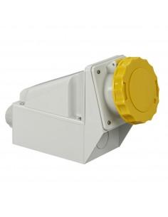 81177 - PratiKa - socle de prise industrielle - 63 A - 3P+N+T - 100..130 V CA - IP 67 - Schneider