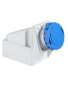 81178 - PratiKa - socle de prise industrielle - 63 A - 2P+T - 200..250 V CA - IP 67 - Schneider