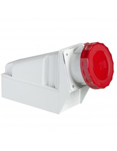 81182 - PratiKa - socle de prise industrielle - 63 A - 3P+T - 380..415 V CA - IP 67 - Schneider