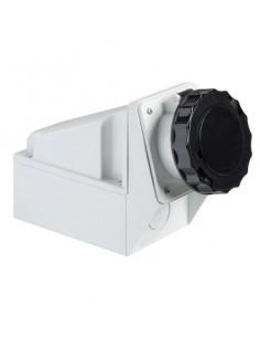 81186 - PratiKa - socle de prise industrielle - 63 A - 3P+N+T - 480..500 V CA - IP 67 - Schneider