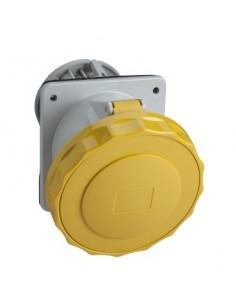 81276 - PratiKa - socle de prise industrielle - CEE 63A 4P 110V 4U - inclinée - IP67 - Schneider