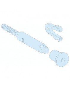 13947 - Kaedra - accessoire de coffret - kit de plombage - 2 vis et 4 agrafes - Schneider