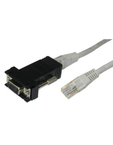 720-014126 - Câble série RJ45 - DB9...