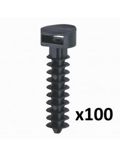 031955 - EMBASE NOIRE A CHEVILLE x100
