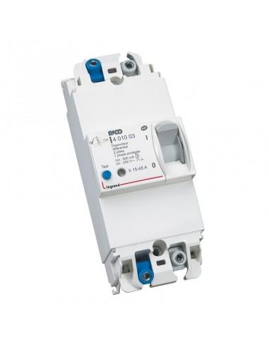 401003 - Disjoncteur de branchement EDF 2P 15/45A 500MA SELECTIF - Legrand