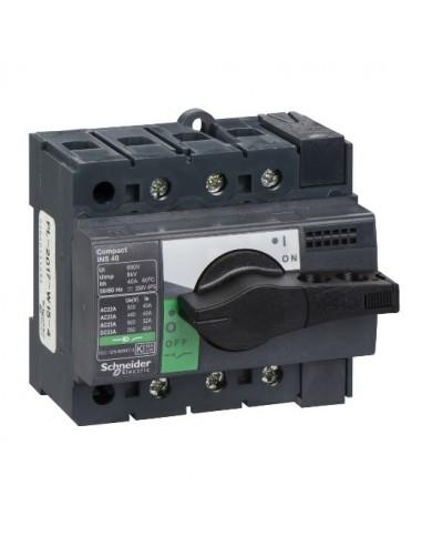 28900 - Interrupteur sectionneur Interpact INS40 3P 40 A - Schneider