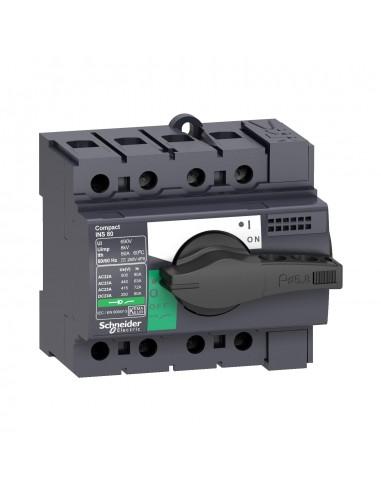 28904 - Interrupteur sectionneur Interpact INS80 3P 80 A - Schneider