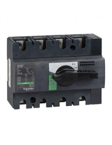 28909 - Interrupteur sectionneur Interpact INS100 4P 100 A - Schneider