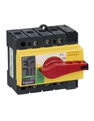 28916 - Interrupteur sectionneur Interpact INS40 3P 40 A - Schneider