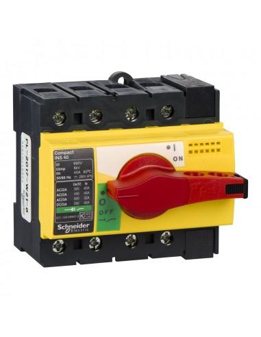 28917 - Interrupteur sectionneur Interpact INS40 4P 40 A - Schneider