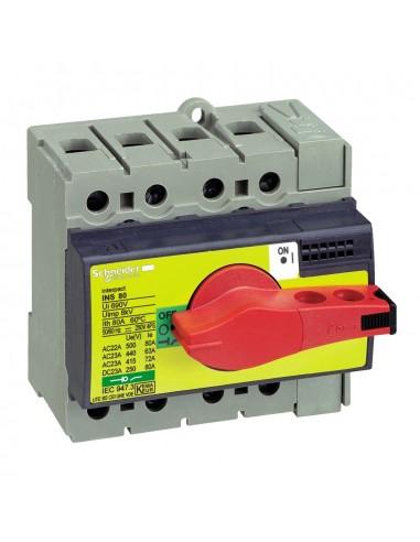 28920 - Interrupteur sectionneur Interpact INS80 3P 80 A - Schneider