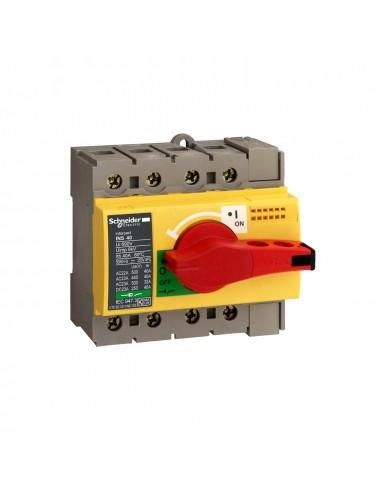 28921 - Interrupteur sectionneur Interpact INS80 4P 80 A - Schneider