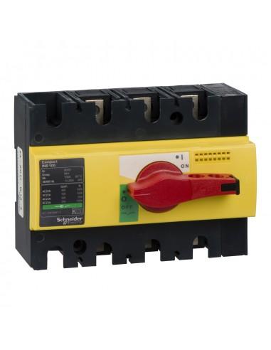 28924 - Interrupteur sectionneur Interpact INS100 3P 100 A - Schneider