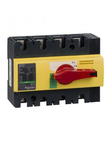 28925 - Interrupteur sectionneur Interpact INS100 4P 100 A - Schneider