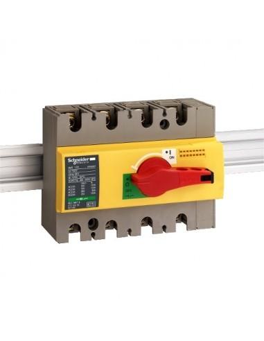28929 - Interrupteur sectionneur Interpact INS160 4P 160 A - Schneider