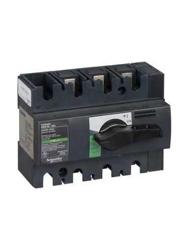28996 - Compact INSE80 - interrupteur - 60A - 3P - à poignée noire - Schneider