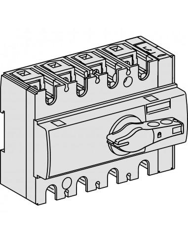 28998 - Compact INSE80 - interrupteur - 80A - 3P - à poignée noire - Schneider