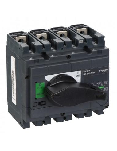 31103 - interrupteur-sectionneur Interpact INS250 4P 200 A - Schneider