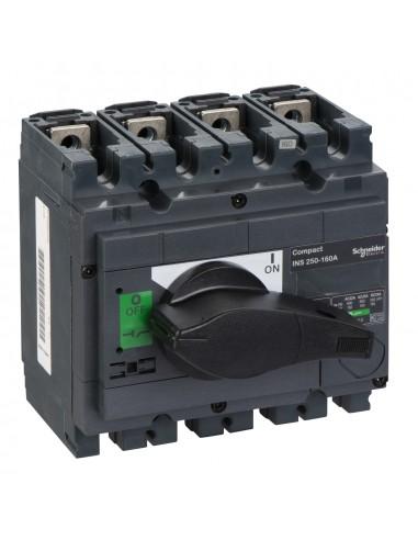 31105 - interrupteur-sectionneur Interpact INS250 4P 160 A - Schneider