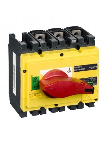 31122 - interrupteur-sectionneur Interpact INS250 3P 200 A - Schneider