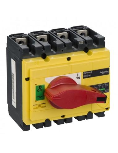 31127 - interrupteur-sectionneur Interpact INS250 4P 250 A - Schneider