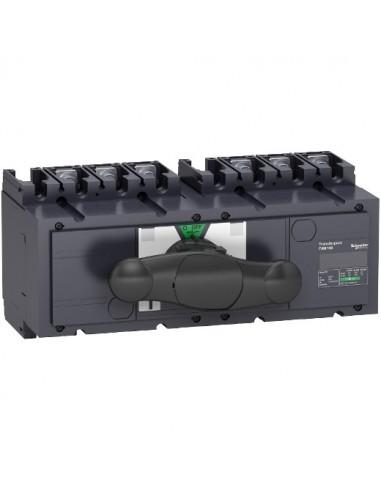 31140 - inverseur de source manuel monobloc Interpact INS250 3P 100 A - Schneider