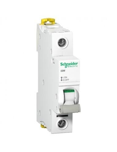 A9S65191 - Acti9, iSW interrupteur-sectionneur 1P 100A 250VAC - Schneider