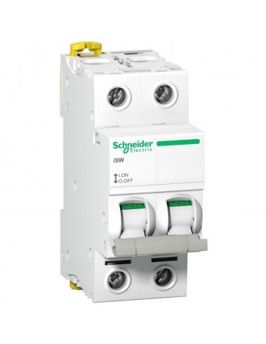 A9S65240 - Acti9, iSW interrupteur-sectionneur 2P 40A 415VAC - Schneider