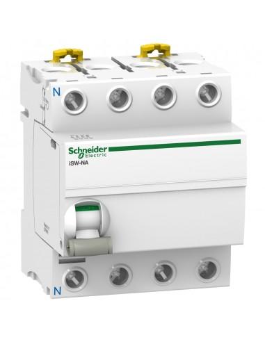 A9S70790 - Acti9, iSW-NA interrupteur-sectionneur 4P 100A 415VCA - Schneider
