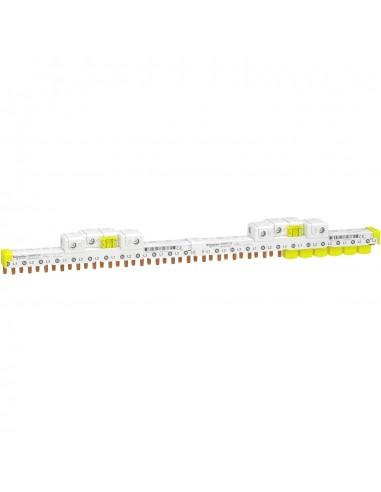 A9XPP724 - Acti9 iDT40 - peigne avec connecteur - 3P+N - 24 modules de 18mm - 80A - Schneider