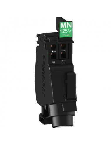 LV426803 - Compact NSXm, Powerpact B, TeSys GV4 - bobine MN - 110/130Vca - 50/60Hz - 125Vcc - Schneider