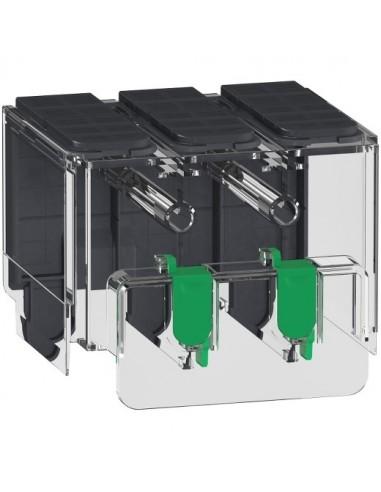 LV426912 - Compact NSXm et Powerpact B - 1 cache borne long 3P - Schneider
