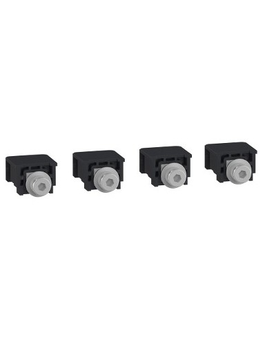 LV426961 - Compact NSXm - 4 connecteurs pour cosse/barre avec vis - Schneider