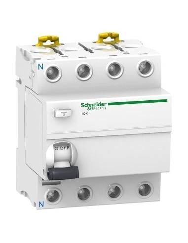 A9R55440 - ProDis iID K interrupteur différentiel PdC 4,5kA 4P 40A type AC 30mA - Schneider