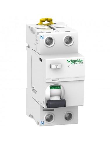A9R10225 - Acti9, iID interrupteur différentiel 2P 25A 10mA type AC - Schneider