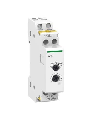 A9C15419 - Acti9, iATEt auxiliaire de temporisation 24...240VCA, pour iCT et iTL - Schneider