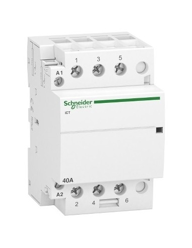 A9C20843 - Acti9, iCT contacteur 40A 3NO 230...240VCA 50Hz - Schneider