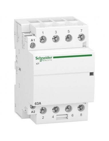 A9C20864 - Acti9, iCT contacteur 63A 4NO 220...240VCA 50Hz - Schneider
