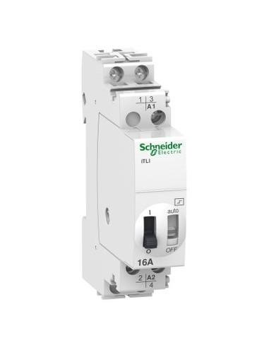 A9C30015 - Acti9, iTLI télérupteur inverseur 16A 1NO+1NF 12VCA 6VCC 50-60Hz - Schneider