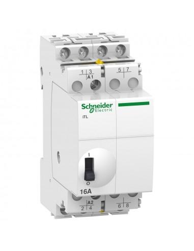 A9C30114 - Acti9, iTL télérupteur 16A 4NO 24VCA 12VCC 50-60Hz - Schneider