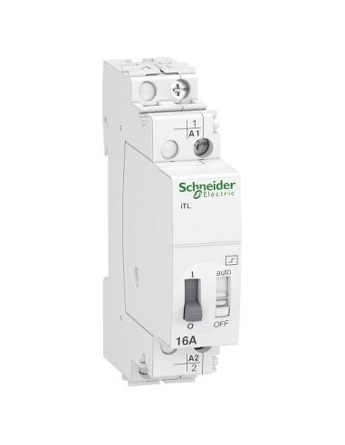 A9C30811 - Acti9, iTL télérupteur 16A 1NO 230...240VCA 110VCC 50-60Hz - Schneider