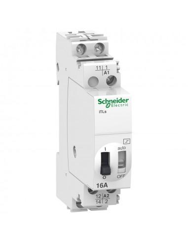 A9C32111 - Acti9, iTLs télérupteur avec signal. à distance 16A 1NO 24VCA 12VCC 50-60Hz - Schneider