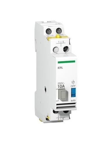 A9E15539 - Acti9, iERL extension pour relais inverseur iRLI 230-240VCA 10A 1F + 1O/F - Schneider