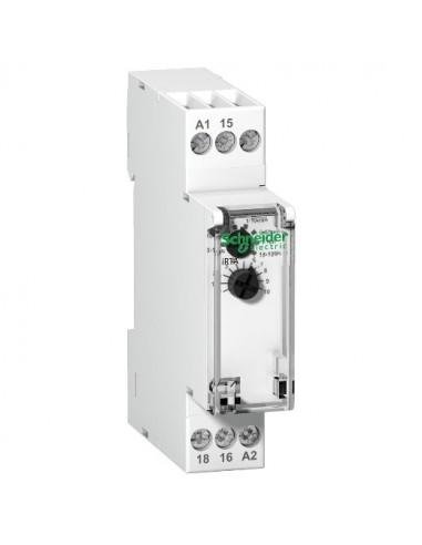 A9E16065 - Acti9, RTA, relais à retard temporisé sur ordre maintenu 1OF 24...240VCA 24VCC - Schneider