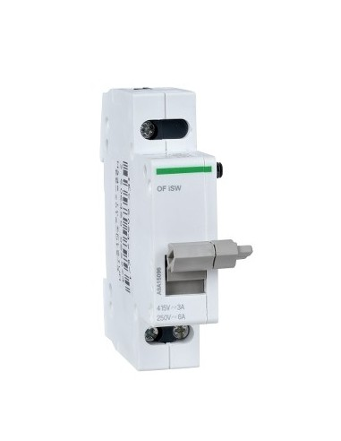 A9A15096 - Acti9, iSW contact auxiliaire OF pour interrupteur iSW 3A 415VCA - 6A 250VCA - Schneider