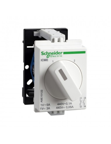 A9E15122 - Acti9, iCME commutateur rotatif 2 directions pour circuits électroniques - Schneider