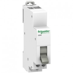 A9E18073 - Acti9, iSSW commutateur 3 positions 1 contact inverseur OF 20A 230V - Schneider