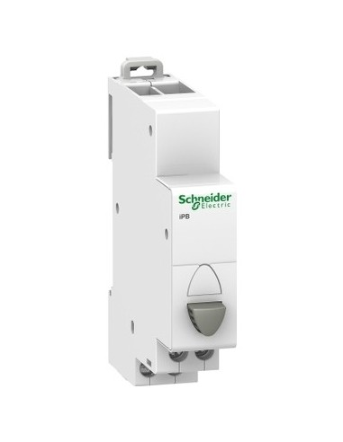 A9E18030 - Acti9, iPB bouton-poussoir simple gris 1 NF 20A 230VCA - Schneider