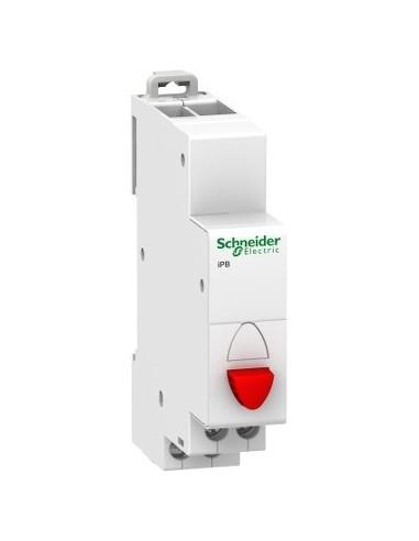 A9E18031 - Acti9, iPB bouton-poussoir simple rouge 1 NF 20A 230VCA - Schneider