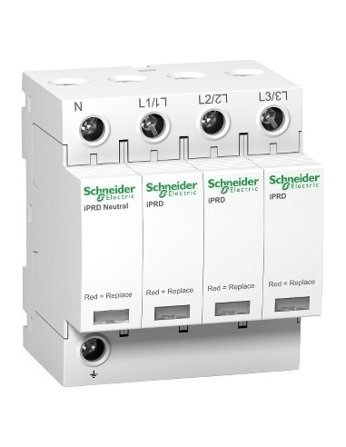 A9L08601 - Acti9, iPRD 8r parafoudre 8 KA 350V 3PN avec report signalisation - Schneider